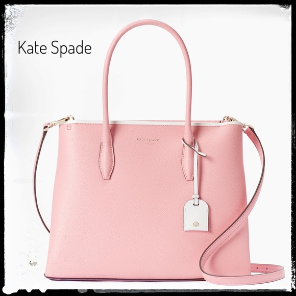 Kate Spade Eva Pink Medium Top Zip Satchel